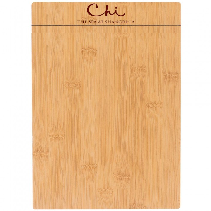 Custom design wooden board menu holder with custom logo