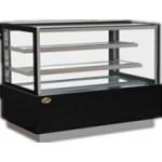 900mm Cake Showcase, Square Glass Front - 1/Case