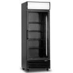 510 Ltr Single Glass Door Upright Cooler - 1/CASE