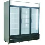 1500 Ltr Triple Glass Door Upright Cooler - 1/CASE