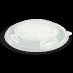24 & 32 Oz. Salad Bowl Lid, Clear, Eco-Friendly, PLA - 50/Case