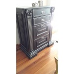 Drawer chest MDF painted
