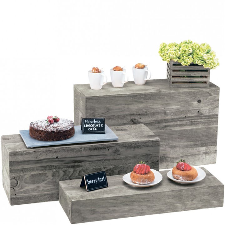 RECTANGULAR RISERS SET