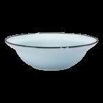 Luzerne Tin Tin, New Bone Blue 19cm Bowl, 12 pcs/pack