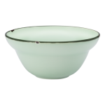 Luzerne Tin Tin, New Bone Green 15cm Bowl, 24 pcs/pack