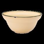 Luzerne Tin Tin, New Bone Yellow 12cm Bowl, 48 pcs/pack