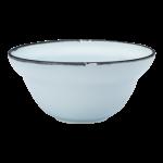 Luzerne Tin Tin, New Bone Blue 13cm Bowl, 48 pcs/pack