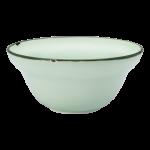 Luzerne Tin Tin, New Bone Green 13cm Bowl, 48 pcs/pack