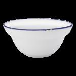 Luzerne Tin Tin, New Bone Royal Blue 12cm Bowl, 48 pcs/pack