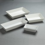 White Melamine Bowls