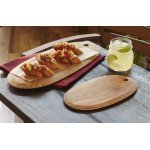 "16.2""x7.2"" Olive Wood Serving Board, Brown - 6/Case"