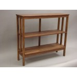5 star console for books. Mahogany stained. 1200x400x1100