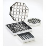 Cal-Mil 308-4-49 Chrome Drip Tray (4Wx4Dx1H)