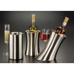 WINE COOLER, STAINLESS STEEL 5-1/4 DIA. X 8 H
