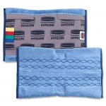 """17.5"""" Microfiber Mop Head, General Purpose, Double-Sided, Gray - 6/Case"""
