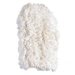 Dust Mitt Off-Floor Dusting Tool - Cotton, White