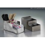 Caddy, Coffee, Stainless Steel, Satin 8 Lx4 Wx4 H - 6/Case