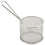 Mini Serving Fry Basket, Round, 3-3/4