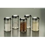 Shaker, Glass W/ Cheese Top, Beehive, 12 Oz. - 12/Case