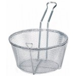 "8.5""Dia x 4.25""H Fry Basket, Wire - 20/Case"
