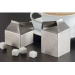 CREAMER, STAINLESS STEEL, MILK CARTON, 3 OZ.