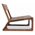 Tropical living lounge chair. Raintree.