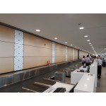 Compact laminate panels with custom decor. Multiple colors. 1 sq. m including installation