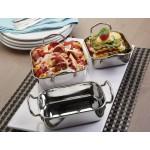 Stainless Steel Mini Roasting Pan, 26 Oz. 5-1/2 Lx5-1/2 Wx2 H - 48/Case