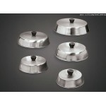 BASTING COVER, STAINLESS STEEL, ROUND 6-1/2 DIA. X 2 H