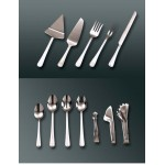 """6"""" Ice Tongs, S/S, Silver - 144/Case"""