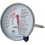"5"" Probe Meat Thermometer, 3"" Dial - 12/Case"