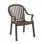 Dining Armchair, Colombo Bronze Mist - 4/Case