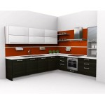 Kitchen unit, PLY and high gloss panels.