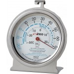 "Freezer/Refrig Thermometer, 3"" Dial - 12/Case"