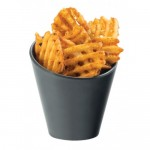 Cal-Mil 3600-65M Faux Slate Concave French Fry Holder