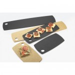 Cal-Mil 1531-612-13 Flat Bread Serving/Display Boards (12Wx6Dx.25H - Black)