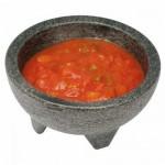 10 Oz Molcajete Salsa Bowl, Plastic Resin, 4 pcs/pack