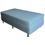915x1900x200mm Motel Comfort Single Mattress ★★ + Single Base - 1/Case
