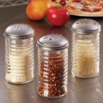 Shaker, Glass W/Dredge Top, Beehive, 12 Oz. - 12/Case