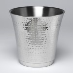 Wine Bucket, S/S, Silver - 2/Case