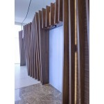 Raintree feature wall. square meter