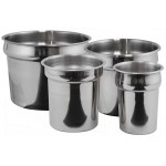 """11 Qt. 11.5"""" x 9"""" Inset, Stainless Steel, Mirror Finish"""