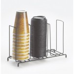 Cal-Mil 1229 Iron Cup/Lid Organizer (13Wx4.5Dx8.5H)