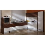 Harmony of texture and color kitchen. PLY, HPL