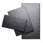 10Wx20Dx.25H Rectangle Faux Slate Serving Platter
