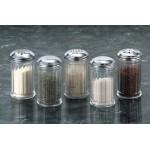 Shaker, San Plastic, Standard Weight, Dredge Top, 12 Oz. 3 Diax5-3/8 H - 12/Case