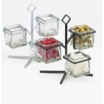 Cal-Mil 1804-13 Iron Glass Jar Display