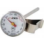 "5"" Probe Frothing Thermometer, 1"" Dial - 12/Case"