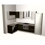 Kitchen unit, PLY and tibber frame with glass.