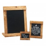 Cal-Mil 3489-23-99 Madera Chalkboard Stands (3.5Wx2H)